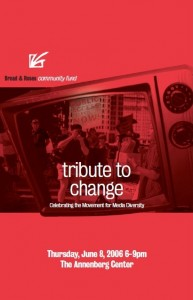 Tribute to Change 2006 poster