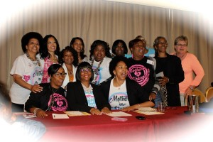 Photo of Mothers in Charge members.