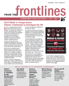 Newsletter 2014 Issue #1 (link to pdf)