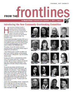 newsletter 2014 issue #2 (links to pdf)