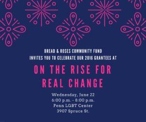 Wed June 22, 6-8pm, Penn LGBT Center 3907 Spruce St
