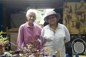 photo of Iris Brown and Tomasita Romero