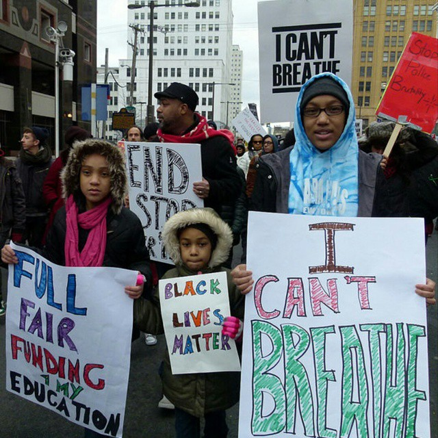 Coalition for REAL Justice's Reclaim MLK PHL protest
