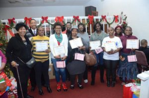 Women graduating from the Why Not Prosper program in December 2015
