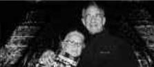 Mary Ellen Weber and her husband Robert Stern