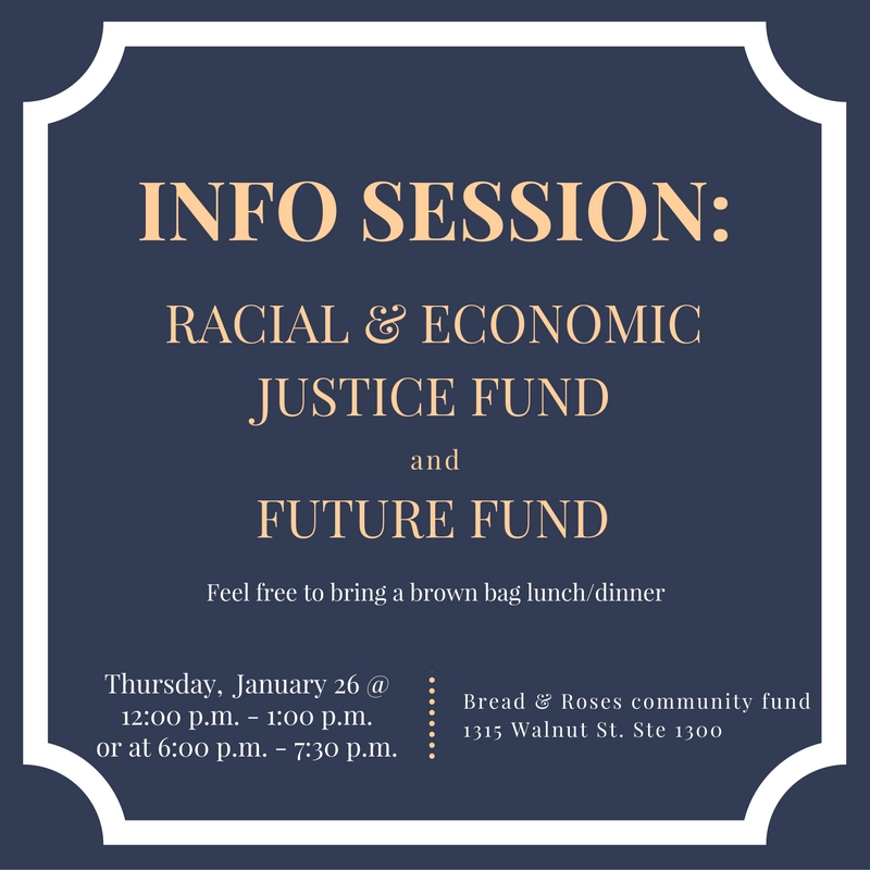 REJ & Future Fund Info Session