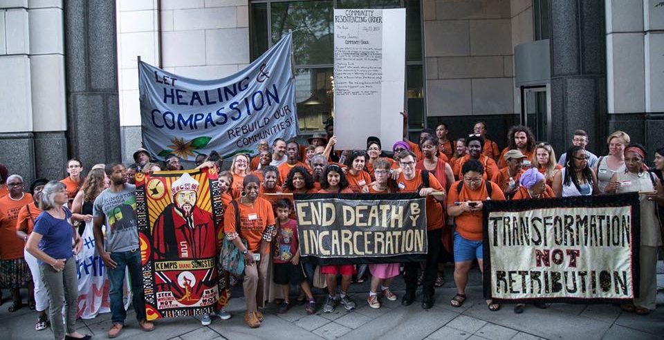 Group of activists fighting to end mass incarceration