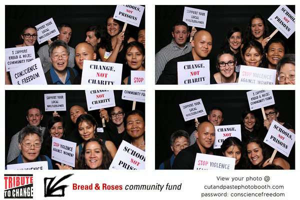 Set of PhotoBooth pictures from the Tribute