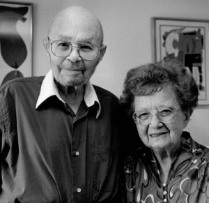 photo of David and Florence Cohen