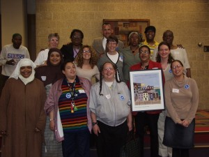 Photo of Vote For Homes Coalition members