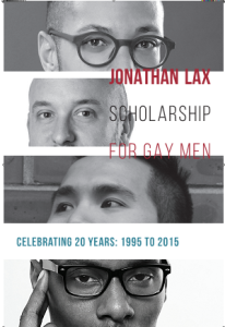 Close-ups of four faces of past Lax scholars.