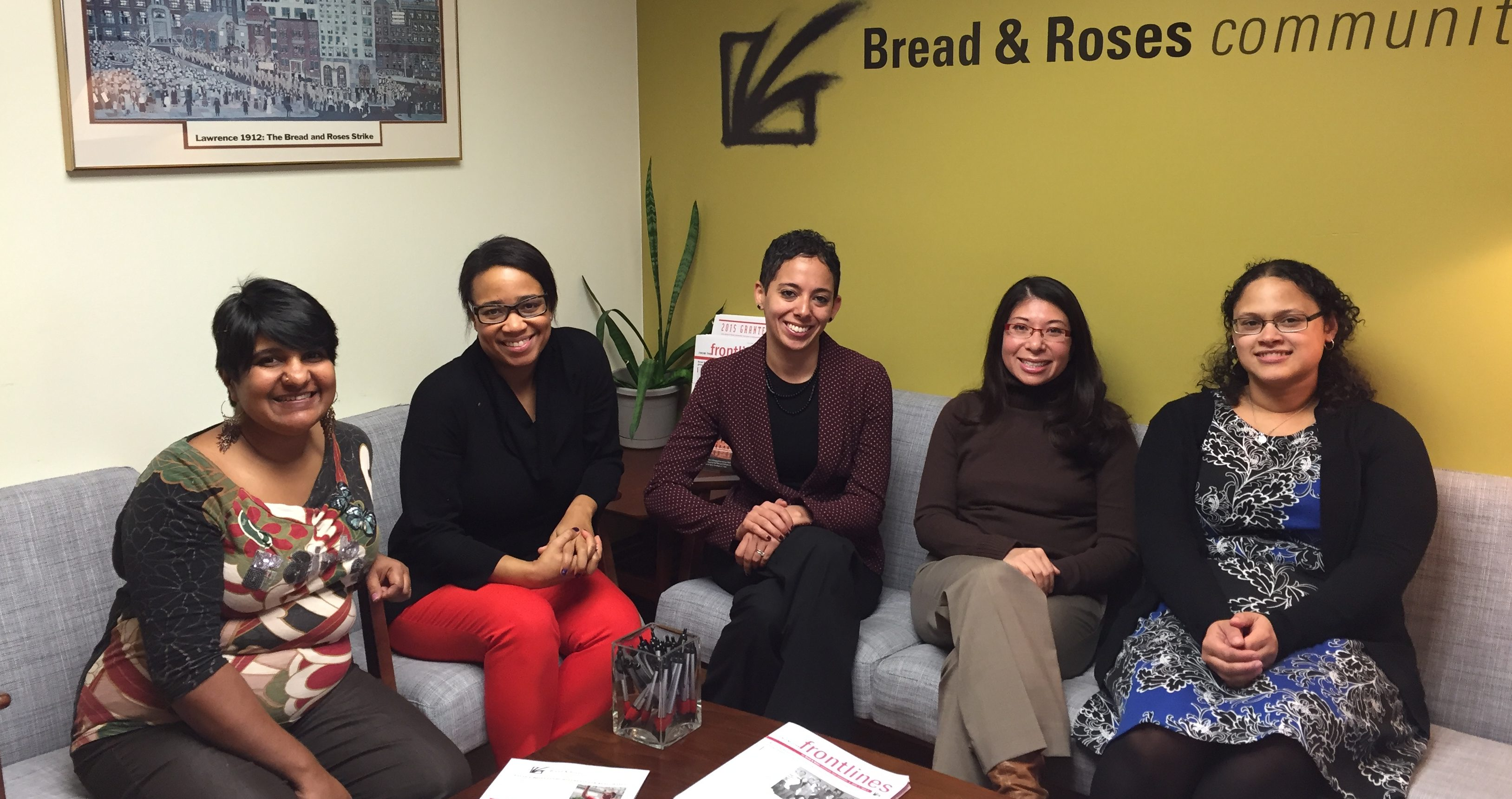 The 2015 Women of Equity pilot group pictured.