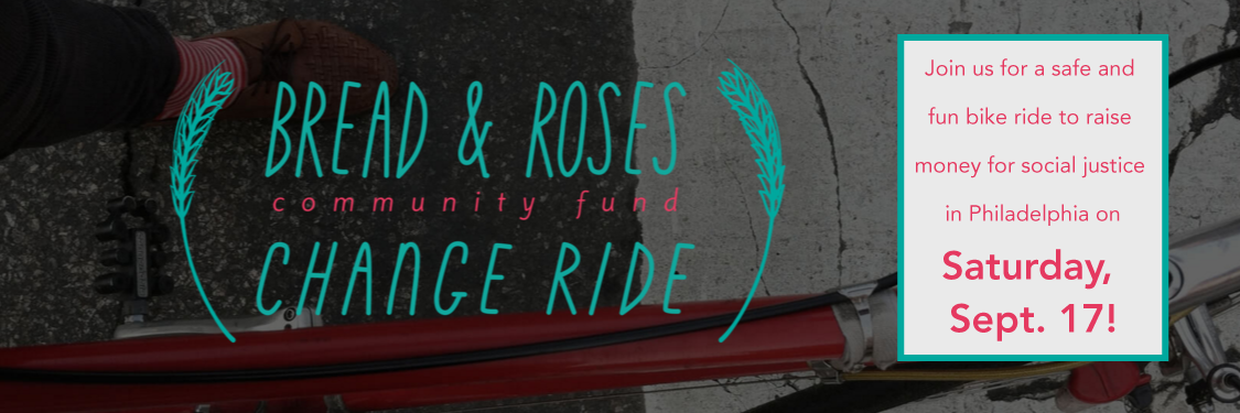 Join us for a safe and fun bike ride to raise money for social justice in Philadelphia on Saturday, September 17!