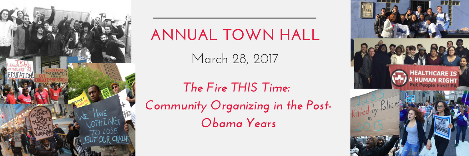 Banner announcing Annual Townhall on March 28, 2017