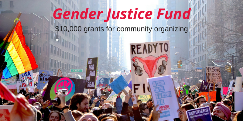 Announcement for Gender Justice Fund